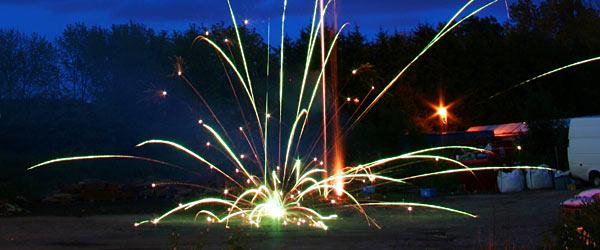 Fireworks Malfunction