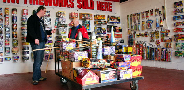 Fireworks Shop