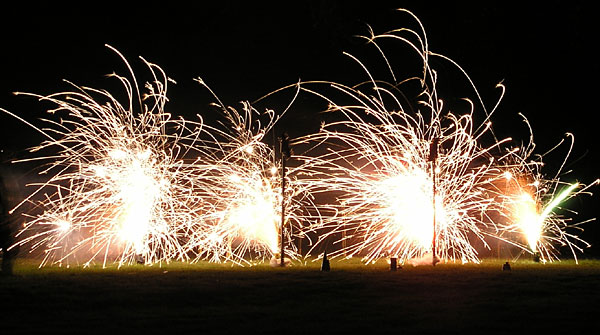 Firework Fountains