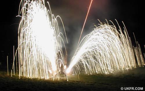 Firework Fountains