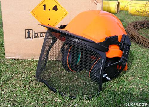 Fireworks Safety Helmet
