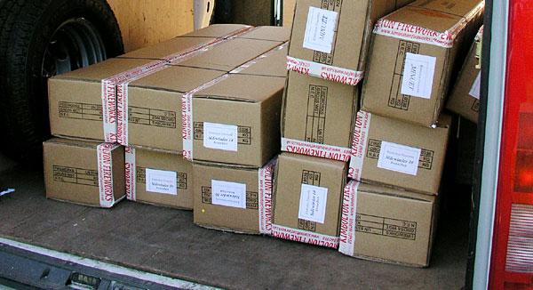 Mail order fireworks