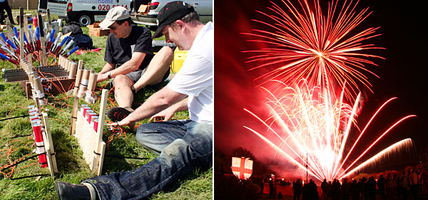 Professional Fireworks Display Company