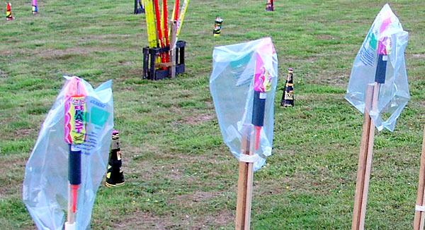 Big rockets waterproofed
