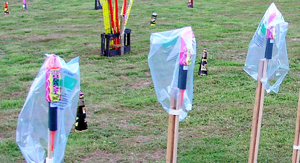 Big rockets waterproofed