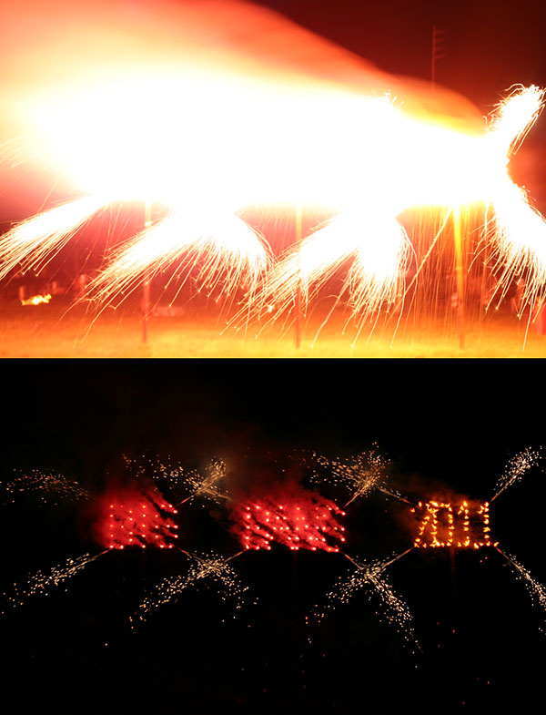Shutter speed for fireworks