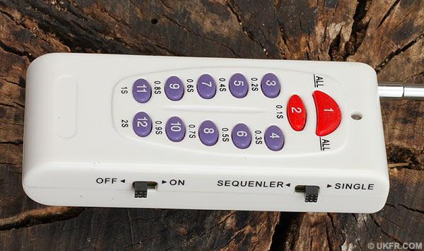 Remote Fireworks System
