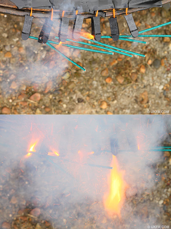 Remotely fired fireworks