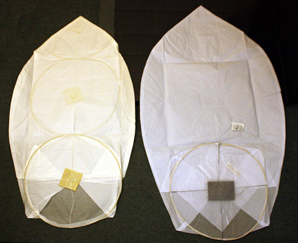 Sky lanterns the difference between high and low quality for Recycled paper lantern