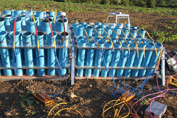 Shell racks and tubes