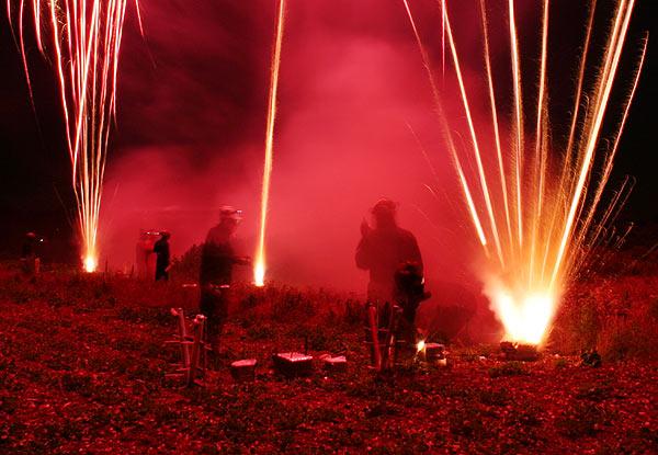 Wedding Fireworks Show
