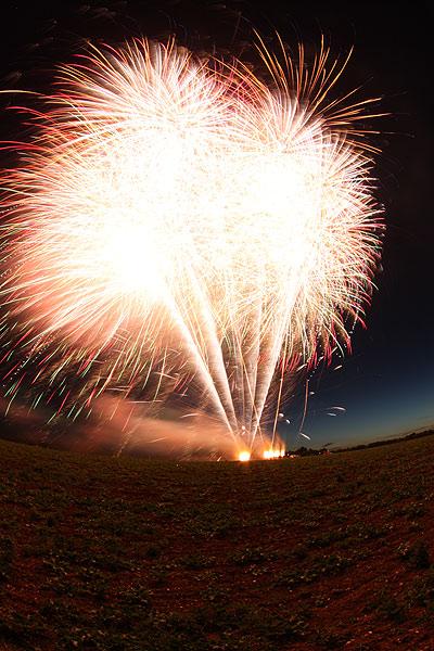 Wedding Fireworks by Firework Crazy
