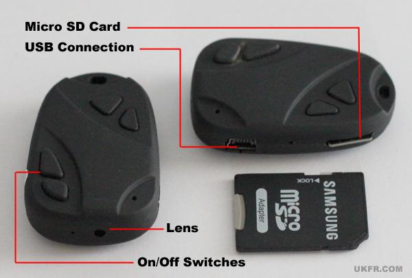 Key Fob Spy Cameras