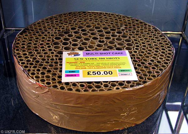 Best Firework Cake For The Money