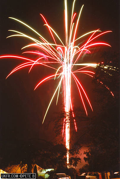 Oulton Fireworks At The Parkhill Hotel